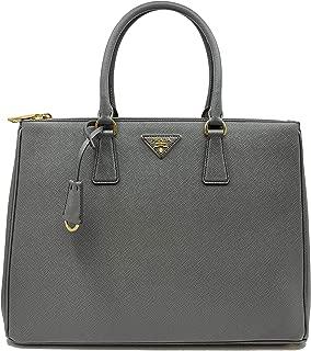 PRADA Saffiano Lux Galleria Gray Leather Ladies Tote 1BA786NZV