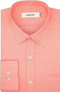 MODARD Self Design 100% Giza Cotton Full Sleeves Regular Fit Formal Shirt for Men