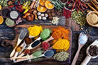 Jigsaw Puzzles for Adults 1000 Piece - Spice of Life by Connexio Puzzles - Game of Colourful Spices and Herbs - Family Fun...