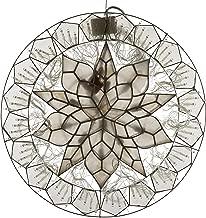 Gift Ko Handmade Ring/Sampaguita Parol Christmas Lantern 18 inch Natural