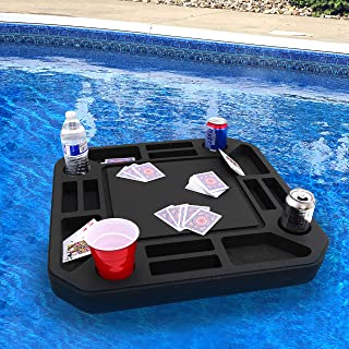 Polar Whale Floating Table Pool Party Float Game and Lounge Durable Foam Uv Resistant Refreshment Tray Many Shapes and Sizes