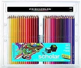 Prismacolor Scholar Colored Pencils, 60-Count