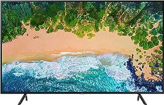 """Samsung UN75NU7100FXZX Smart TV 75"""" 4K Ultra HD, 3 HDMI, 2 USB, Charcoal Black (2018)"""