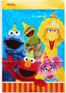 American Greetings Sesame Street Party Supplies, Treat Bags (8-Count)