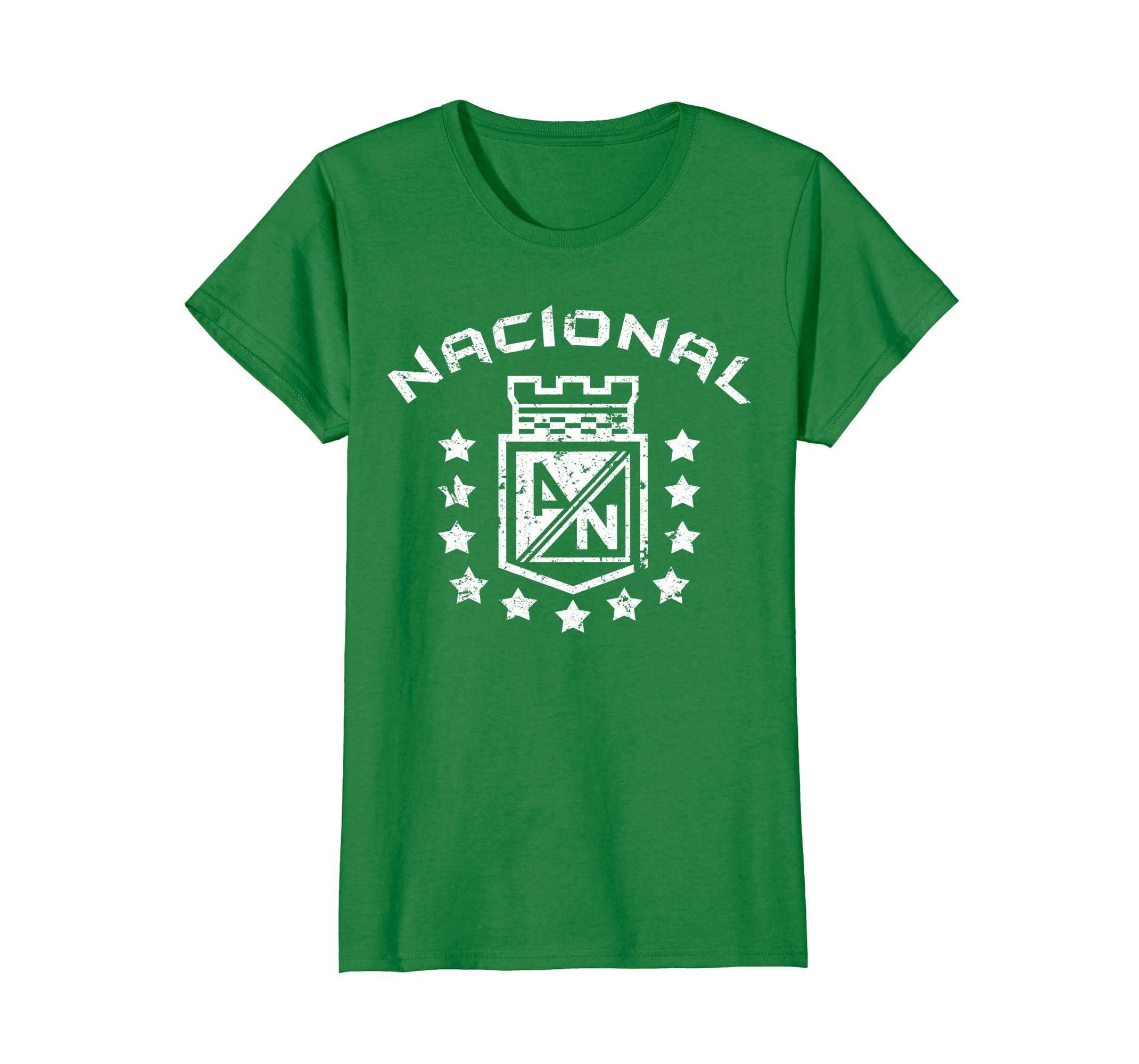 Amazon.com: Atletico Nacional Medellin Colombia Camiseta Tshirt futbol: Clothing