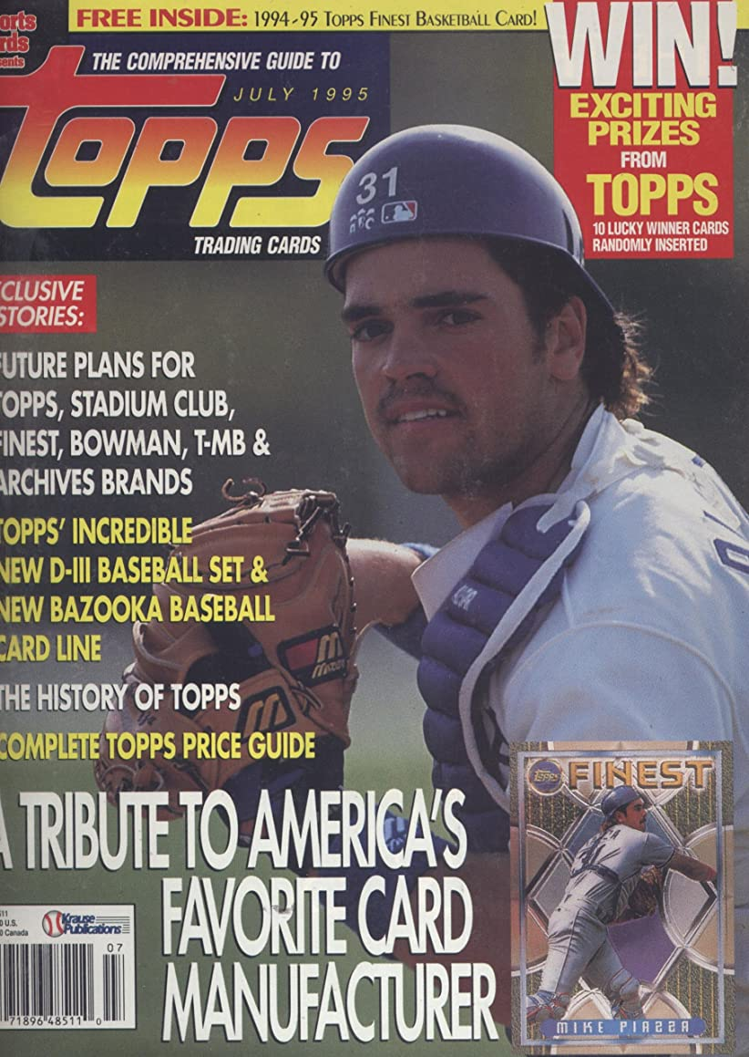 The Comprehensive Guide to Topps Trading Cards (July 1995, Volume 6, No. 3) s78613764417