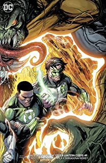 HAL JORDAN AND THE GREEN LANTERN CORPS #49 VARIANT COVER RELEASE DATE 7/25/2018
