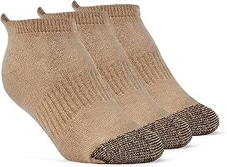 YolBer Boys' Cotton Super Soft No Show Cushion Running Socks - 3 Pairs