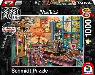Schmidt Spiele 59654 Hemligt syrum 1 000 bitar pussel flerfärgat
