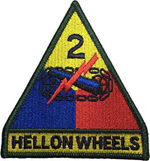 Best us army hell on wheels patch Reviews