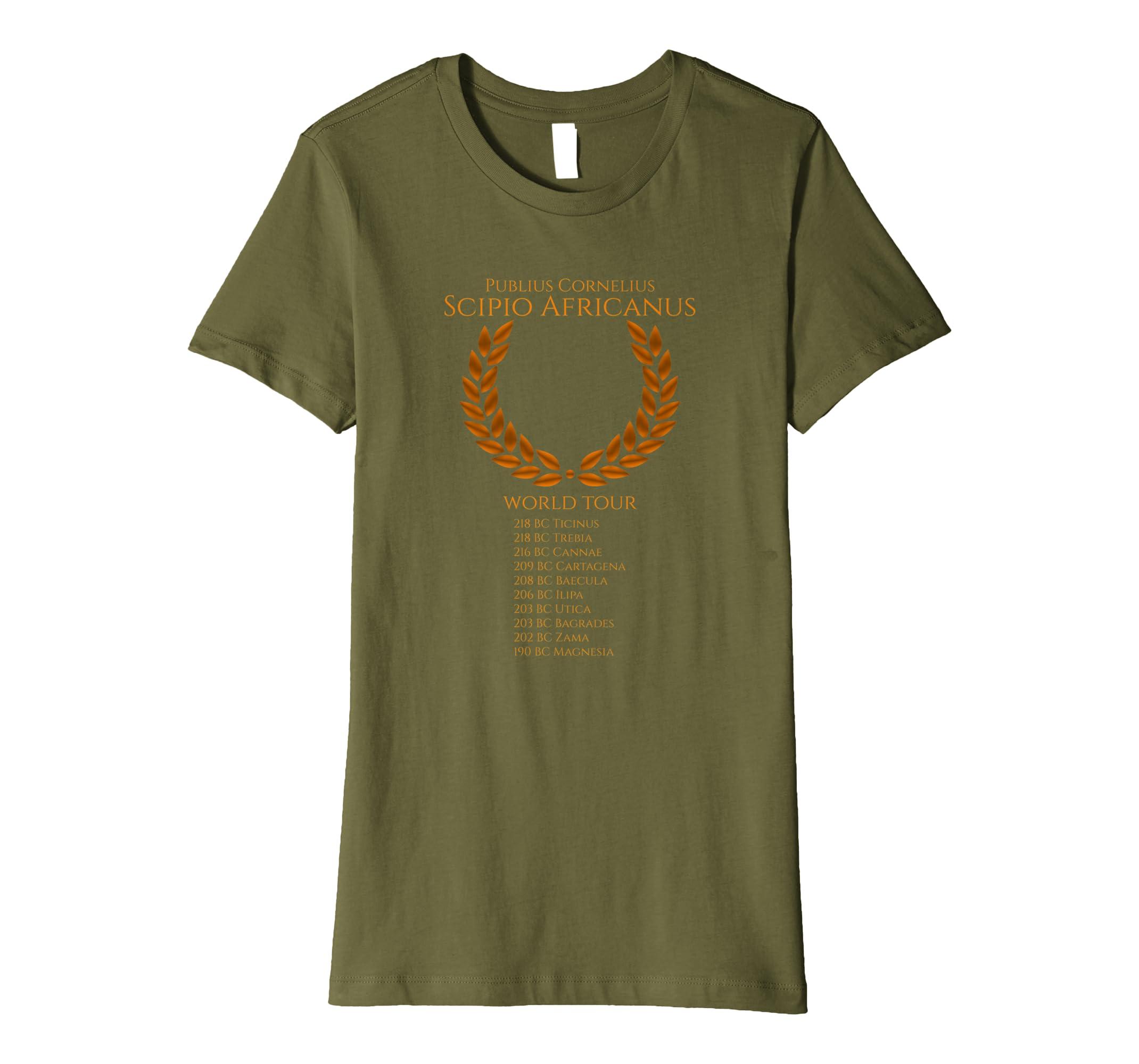 Amazon.com: Scipio Africanus World Tour Ancient Roman Toga Party Shirt: Clothing