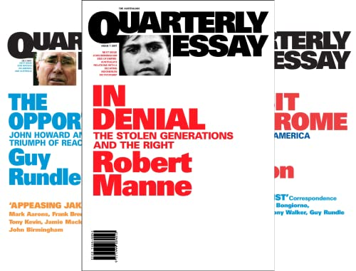 Quarterly Essay (50 Book Series)