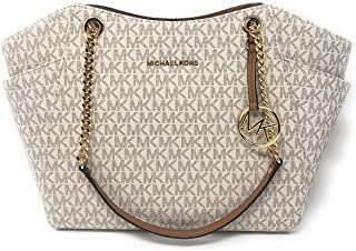 cfb0f449d206 Michael Kors Jet Set Travel Large Chain Shoulder Tote