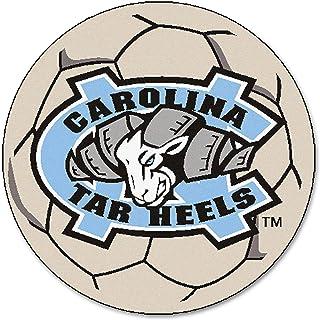 FANMATS NCAA UNC University of North Carolina - Chapel Hill Tar Heels Nylon Face Soccer Ball Rug