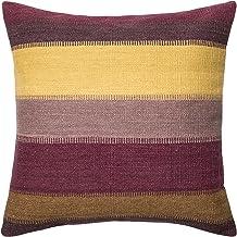 "Loloi Loloi-DSETP0164PLMLPIL3-Plum/Multi Decorative Accent Pillow Wool & Cotton Cover with Down Fill 22"" x 22"", 22"" x 22"",..."