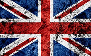 Aahs Engravings British Flag Giant Wall Decal Sticker