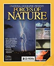 National Geographic Forces of Nature ( 2 CD Rom Set) - Earthquakes, Volcanoes, Floods, Hurricanes, Thunderstorms & More