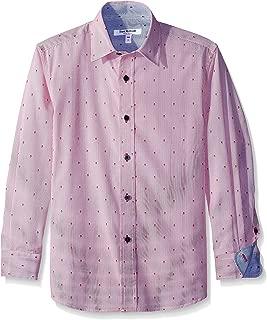 Isaac Mizrahi Boys' Skulls Stripe Shirt