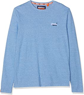 Superdry OL Engineered L//S Top T-Shirt /À Manches Longues Homme
