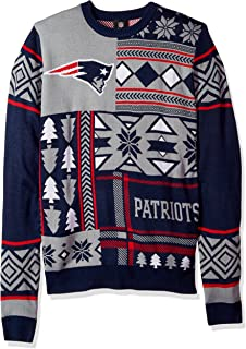 patriots ugly christmas sweater