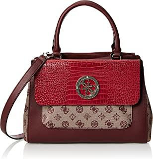 GUESS Womens Handbags, Red (Merlot Multi) - SC744106