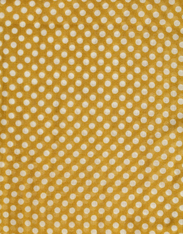 Vincenzo Boretti Damen Schal Hals-Tuch modern elegant edel leicht fein trendy - Loopschal mit Punkt-Muster dünn groß Gelb