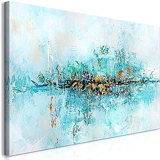 murando - Cuadro en Lienzo sintético Abstracto 120x60 cm Cuadro de Pared Foto impresión artística fotografía decoración de Pared a-A-0416-b-a