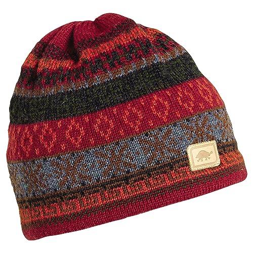 905e99784bd50 Turtle Fur Men s 100% Wool Knit Classic Ski Hat w Fleece Lining