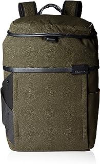 Calvin Klein - Neil Backpack, Mochilas Hombre, Grün (Black Olive), 16x47x29 cm (W x H D)