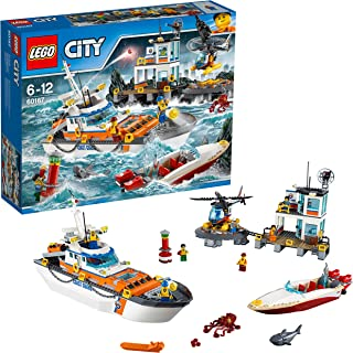 LEGO City Coast Guard Headquarters, Multi-Colour, 60167