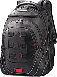 "Samsonite Tectonic 17"" Pft Backpack Black/Red, Black/Red (Black) - 51531-1073"