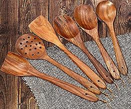 Vedic- أواني مطبخ خشبية فاخرة يدوية الصنع للطبخ والتقديم (6)