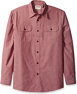 Wrangler Authentics Men's Long Sleeve Classic Woven Shirt