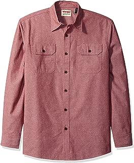Best light red button up shirt Reviews
