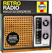 Haynes Retro Radio Kit | Build Your Own Working FM Radio