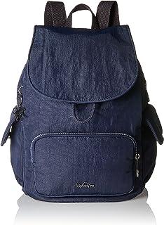 Kipling City Pack S, Mochila para Mujer, Azul, 27x33.5x19 cm