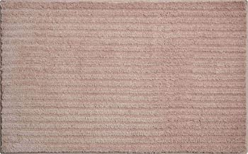 Grund 3D Bath Rug, Ultra Soft and Absorbent, Anti Slip, Riffle, 70x120 cm, Choco Cream