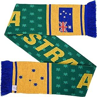 Australia Soccer Knit Scarf