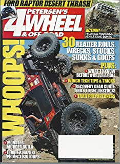 Petersen's 4 Wheel & Off Road Magazine, 30 Reader Rolls Wrecks Stucks Sunks & Goofs - April 2009 (Single Issue Magazine)