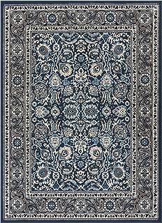 Well Woven Darya Blue Modern Sarouk 4x5 (3'11