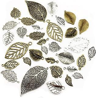 Best leaf charms bulk Reviews