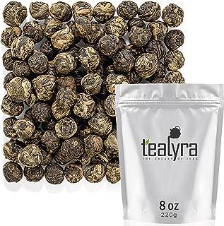 Tealyra - Lychee Black Dragon Pearls - Exotic Sweet Black Loose Leaf Tea - Medium Caffeine - All Natural - 220g (8-ounce)