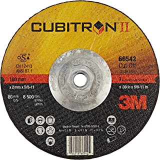 5 Wheels//Box 3M 33456 Cubitron II 3/' x .04/' x 3//8/' Cut-Off Wheel