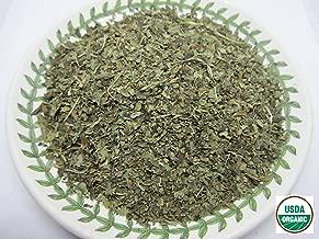Organic Lemon Balm - Melissa officinalis Dried Loose Leaf by Nature Tea (4 oz)