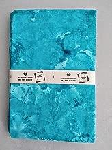 TSI Quilting Fabrics Yardage Hand Dyed Cotton Turquoise
