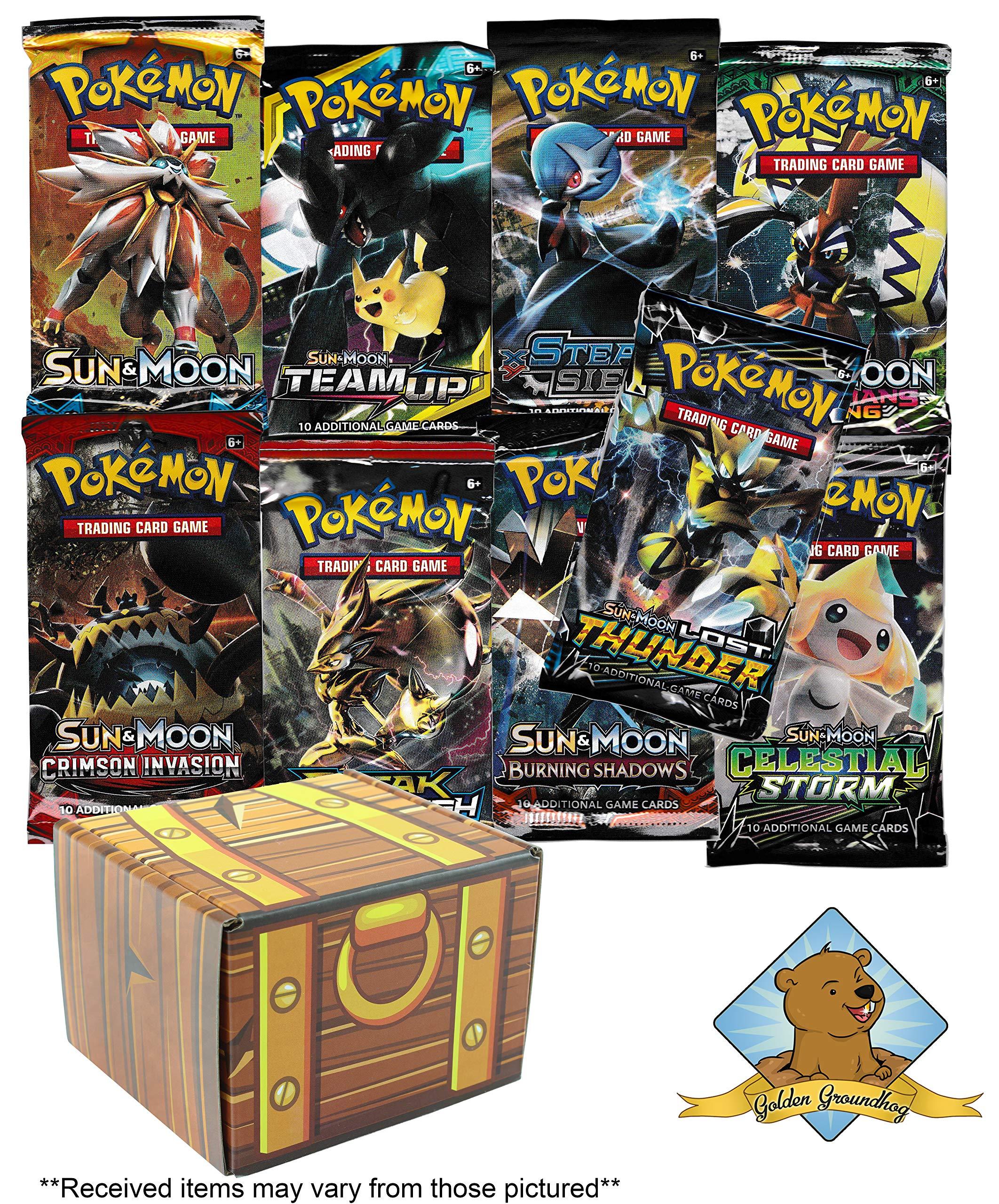 Pokemon Booster Golden Groundhog Treasure