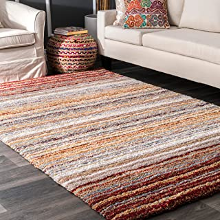 area rugs that go with red sofa