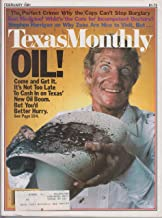 Texas Monthly Magazine Texas New Oil Boom cover (February 1981)