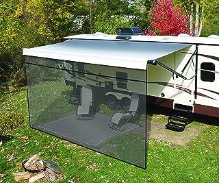 Solera 3797821017 Super Front Panel   Outdoor Patio Shade für Wohnmobil und Reiseanhänger Markisen, 10' x 17'