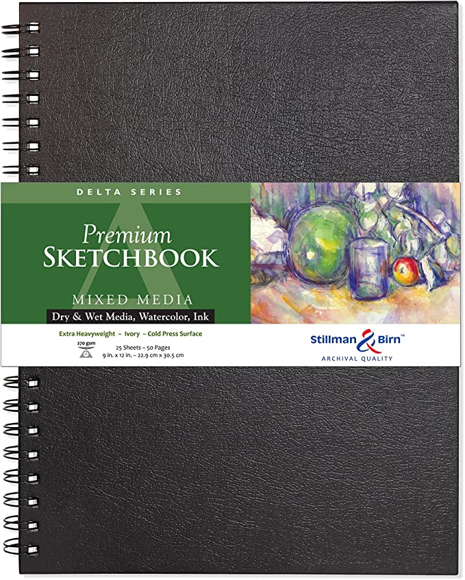 Delta Hardbound Sketchbook 5.5X8.5 by Stillman /& Birn